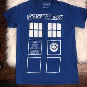 Other - Dr. Who T.A.R.D.I.S police box tee
